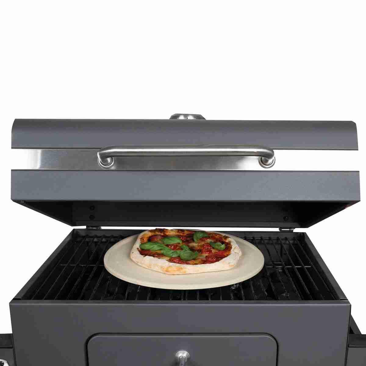 osoltus rotonda per pizza croccante Pietra per pizza professionale 30 cm x 1,5 cm